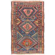 Sale 8830C - Lot 5 - Antique Caucasian Karabagh in Handspun Wool 146x94 cm