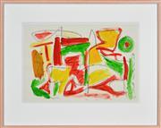 Sale 8316 - Lot 546 - Dick Watkins (1937 - ) - Untitled, 1986 36 x 53cm