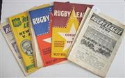 Sale 8418S - Lot 4 - RUGBY LEAGUE NEWS 1956 Vol 37 Nos. 3, 7, 8 (Newcastle v Souths), 9 (Country v Sydney), 12 (NZ v NSW), 13, 15, 16, 17 (New Zealand v...