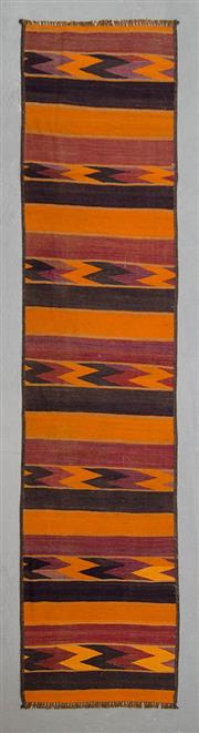 Sale 8499C - Lot 15 - Persian Kilim Runner 326cm x 76cm