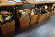 Sale 8518 - Lot 2311 - 8 Boxes of Sundries incl Kitchenwares, Pillows etc
