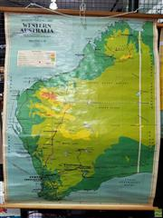 Sale 8566 - Lot 1029 - Chas. H. Scally Teaching Map of Western Australia