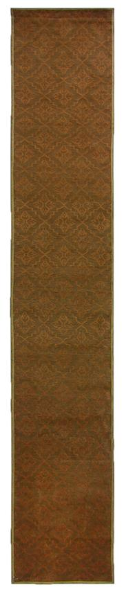 Sale 8725C - Lot 43 - A Nepalese Nomadic Tile Runner, Hand-knotted Wool, 458x81cm, RRP $1,500