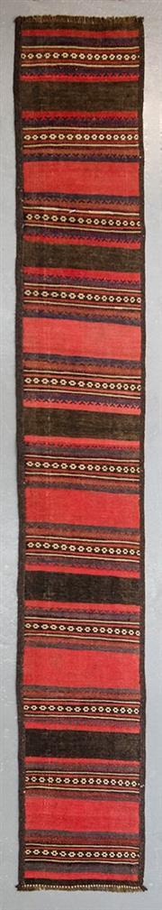 Sale 8499C - Lot 16 - Persian Kilim Runner 320cm x 45cm