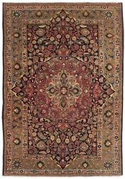 Sale 8626A - Lot 217 - A Cadrys Iranian Vintage Moud Handspun Wool Carpet, Size; 209x136cm, RRP; $3500