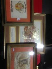 Sale 8655 - Lot 2084 - Collection of Framed Vintage Prints