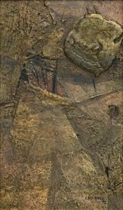 Sale 8693A - Lot 5039 - Clem Millward (1929 - ) - Progression Beneath the Trees, 1972 24 x 14cm