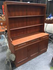 Sale 8839 - Lot 1067 - G-Plan Teak Sideboard with Plate Rack