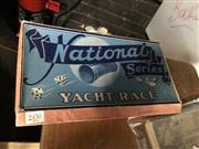 Sale 8819 - Lot 2430 - Boxed Board Game National Series Yacht Race