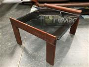 Sale 8859 - Lot 1030 - Pair of Tessa Glass Top Side Tables