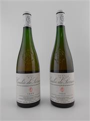 Sale 8479 - Lot 1810 - 2x 1999 Nicolas Joly Clos de la Coulee de Serrant, Savennieres