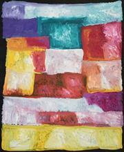Sale 8519 - Lot 540 - Kudditji Kngwarreye (c1928 - 2017) - My Country, 2010 150 x 125cm