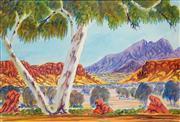 Sale 8696 - Lot 566 - Hilary Wirri (1959 - ) - Near Haasts Bluff 32 x 47.5cm