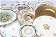Sale 8698 - Lot 68 - Cabinet Plate Collection Including Minton And French Example