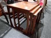 Sale 8765 - Lot 1012 - G-Plan Teak Nest of Tables