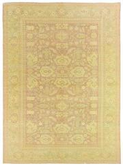 Sale 8725C - Lot 45 - A Vintage Turkish Oushak Carpet, Hand-knotted Wool, 335x240cm, RRP $3,800