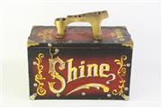 Sale 8761 - Lot 8 - Vintage Shoe Shine Box