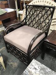 Sale 8822 - Lot 1842 - Large Wicker Armchair