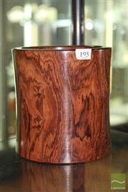 Sale 8285 - Lot 69 - Huanghuali Brush pot