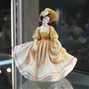 Sale 8336 - Lot 1 - Royal Doulton Figure Pretty Ladies Collection Sunday Best