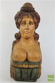 Sale 8505 - Lot 68 - Decorative Corbel Composite Lady Bust (H 60cm)