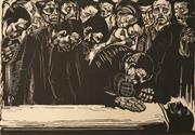 Sale 8597 - Lot 574 - Käthe Kollwitz (1867 - 1945) - Untitled (The Mourners) 49.5 x 62cm (sheet size)