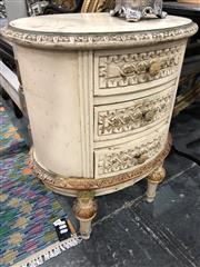 Sale 8822 - Lot 1846 - Pair of French Style Bedside Cabinets - 277