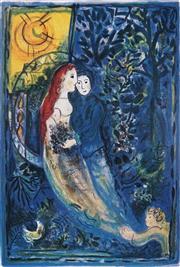 Sale 8985A - Lot 5042 - Marc Chagall (1887 - 1985) - The Wedding 70 x 50 cm (frame: 104 x 88 x 3 cm)