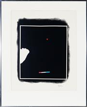 Sale 9028 - Lot 2008 - Artist Unknown Untitled (Abstract) decorative print, 59 x 46.5 cm (frame: 80 x 62 x 2 cm), signed lower right