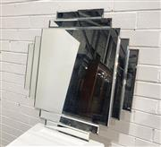 Sale 9063 - Lot 1026 - Mirrored Framed Mirror (w:70cm2)