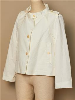 Sale 9093F - Lot 92 - A Scanlan Theodore cream lightweight jacket, size 10