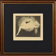 Sale 8330A - Lot 109 - Norman Lindsay (1878 - 1969) - Siesta 16 x 18.5cm