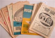 Sale 8418S - Lot 7 - RUGBY LEAGUE NEWS 1959 Vol 40 Nos. 2, 3, 4, 5, 6, 7, 8, 9, 10 (Country v Sydney), 12 (NSW v NZ), 14, 15, 16, 18, 19, 20, 21, 22 (NSW...