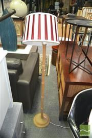 Sale 8431 - Lot 1085 - Timber Standard lamp