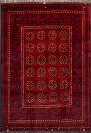 Sale 8455C - Lot 2 - Afghan Beljic 210cm x 148cm