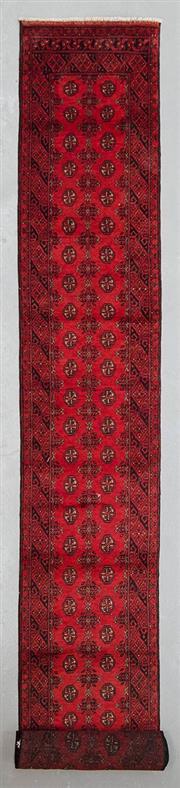 Sale 8499C - Lot 19 - Afghan Turkman Runner 590cm x 80cm