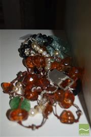 Sale 8509 - Lot 2275 - Assorted Dress Necklaces