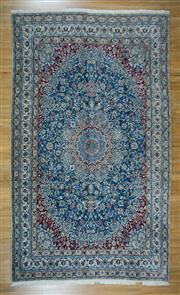 Sale 8665C - Lot 7 - Persian Nain Silk Inlaid 302cm x 202cm