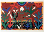 Sale 8939A - Lot 5028 - John Coburn (1925 - 2006) - Paradise Garden 55.5 x 75 cm