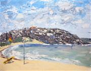 Sale 8363 - Lot 543 - Sally West (1971 - ) - Palm Beach, 2014 90 x 120cm