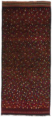 Sale 8725C - Lot 48 - A Kurdish Herki Carpet, Hand-knotted Wool, 255x106cm, RRP $1,800