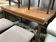 Sale 8822 - Lot 1177 - Vintage Extension Dining Table