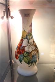 Sale 8314A - Lot 44 - Victorian Avian Themed Milk Glass Vase