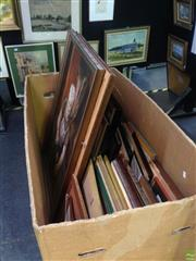 Sale 8600 - Lot 2048A - A Box Collection of assorted original oil paintings by Betty Wood