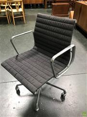 Sale 8607 - Lot 1009A - Herman Miller Chrome Office Chair