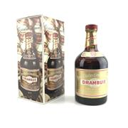 Sale 8911W - Lot 868 - 1x Drambuie Whisky Liqueur - 680ml in box, evaporative losses