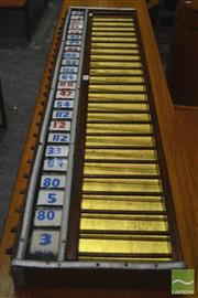 Sale 8326 - Lot 1083 - Vintage Tote Board