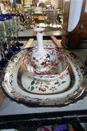 Sale 8351 - Lot 87 - Masons Dish with Other Wares incl Delft