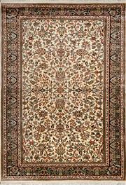 Sale 8380C - Lot 62 - Kashmiri Silk 190cm x 130cm