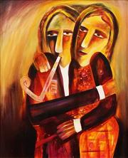 Sale 8657A - Lot 5008 - Paul McCarthy (1956 - ) - Couple, 2001 54.5 x 70cm